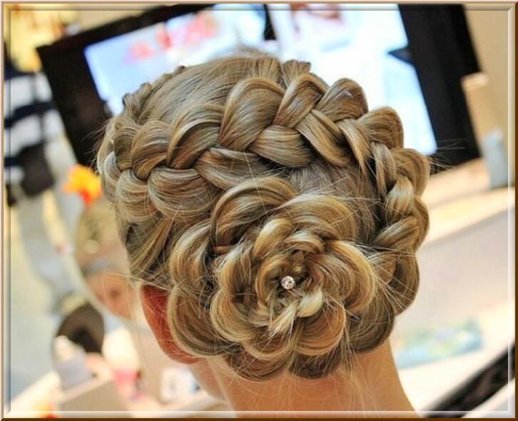 imgplusdb.com / прически на выпускной плетение кос фото