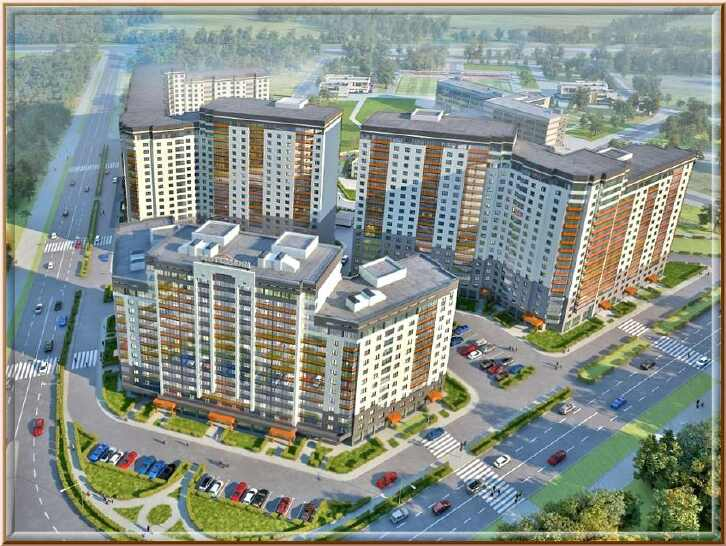 Новостройки в Кудрово СПБ от 126 млн руб за квартиру от