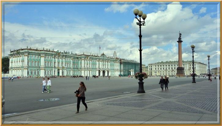 Зимний дворец Санкт-Петербург архитектор Растрелли история создания дворца